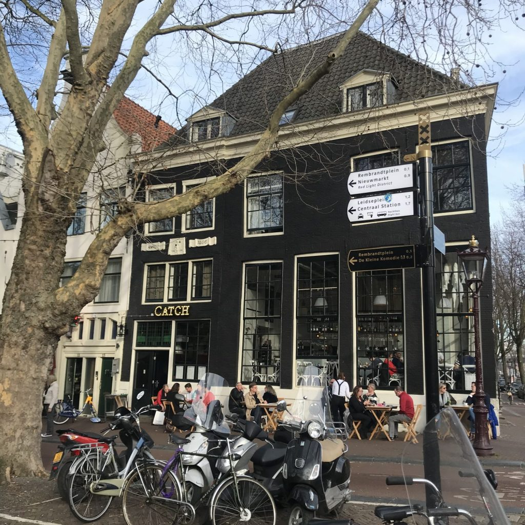 Amsterdam, Reise, Restaurant, Catch
