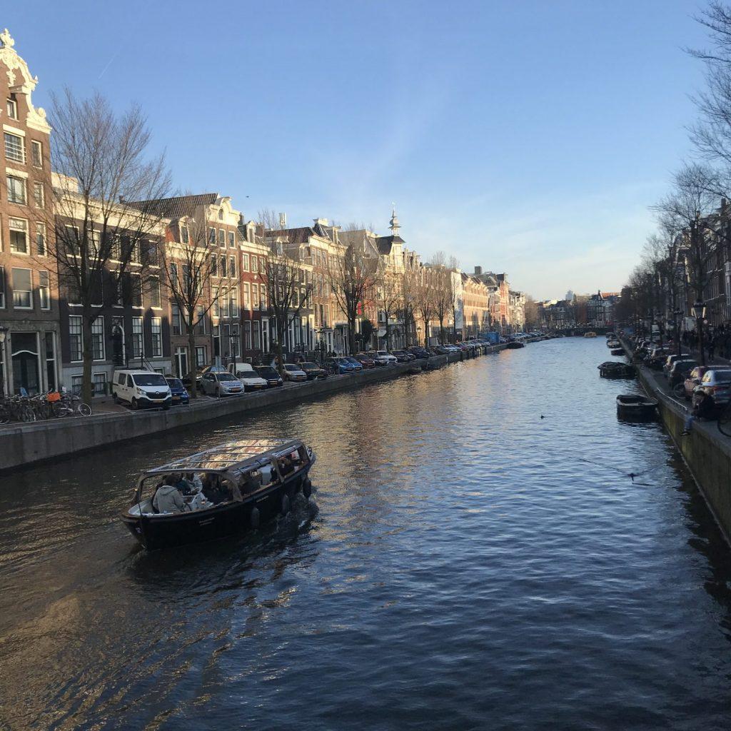 Amsterdam, Reise, Grachten, Grachtenfahrt