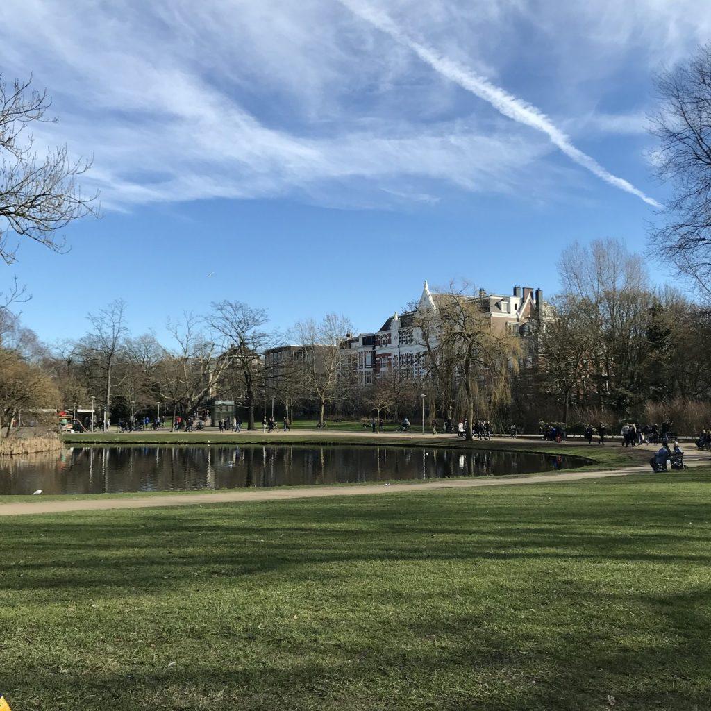 Amsterdam, Reise, Vondelpark, Park