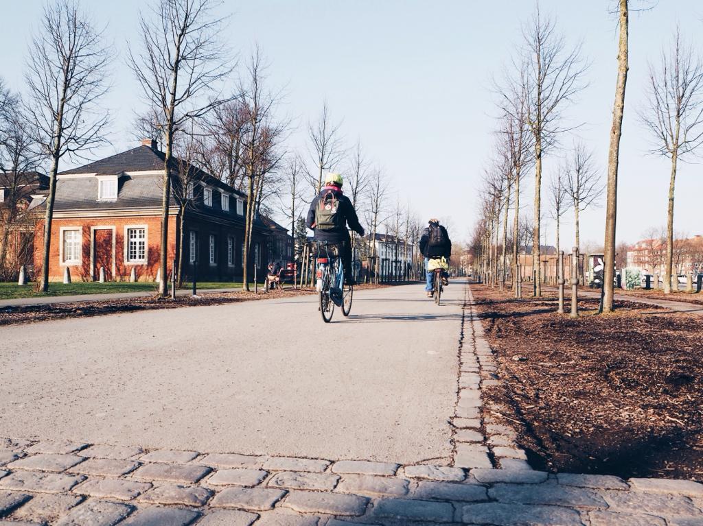 Münster, Fahrrad, Promenade