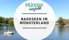 Badeseen, Münsterland, Münster